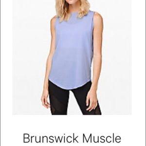 Lululemon brunswick muscle tank lavender size 0